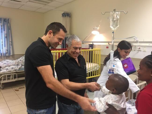 טיפול בילדים באפריקה